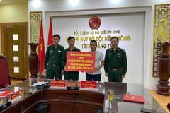Báo VietNamNet trao tặng 80 triệu đồng đến Bộ đội biên phòng Quảng Trị