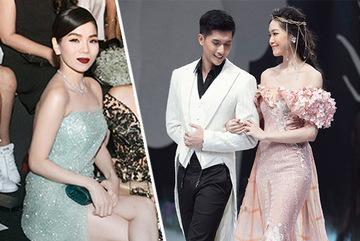 Lệ Quyên cổ vũ nam người mẫu kém 12 tuổi Lâm Bảo Châu diễn thời trang