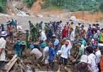 Vụ sạt lở ở Trà Leng: 12 người chưa tìm thấy, huy động chó nghiệp vụ