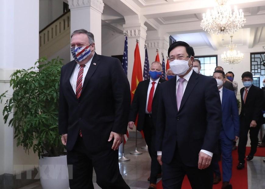 U.S. Secretary of State Mike Pompeo visits Vietnam