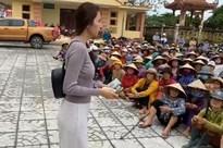 UBND huyện xác nhận có vụ việc người dân bị thu lại tiền được Thủy Tiên hỗ trợ