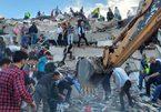Cảnh đổ nát tang hoang ở Thổ Nhĩ Kỳ sau động đất và sóng thần