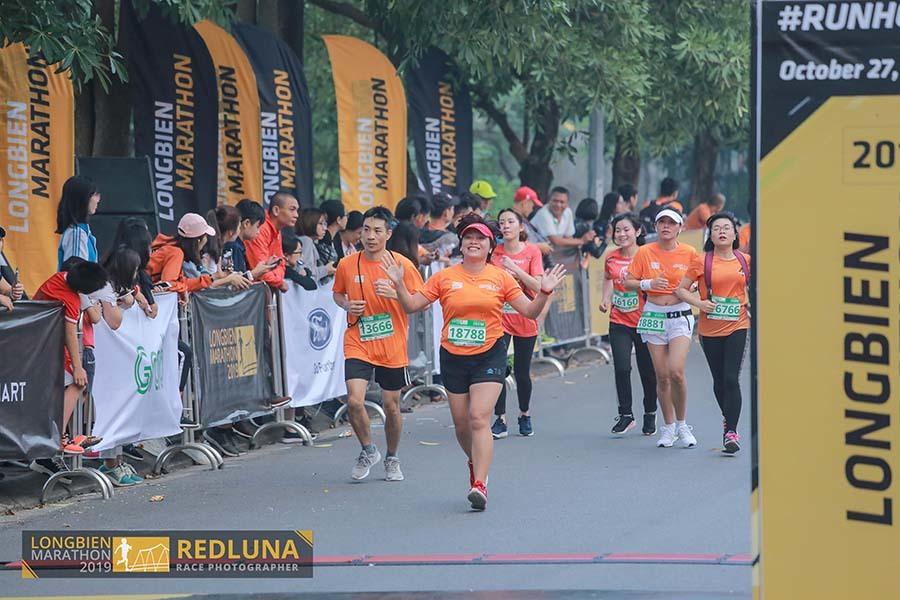 Kỷ lục VĐV tranh tài cự ly marathon ở giải chạy từ thiện