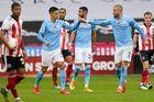 Xem video bàn thắng Sheffield 0-1 Man City