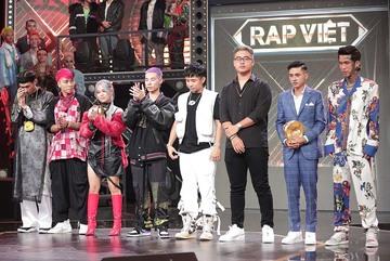 8 gương mặt vào chung kết Rap Việt chính thức lộ diện