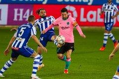 Trực tiếp Barca vs Osasuna: Chờ Messi hồi sinh
