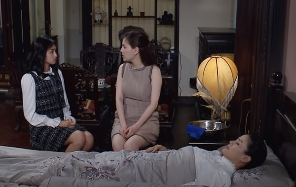 'Vua bánh mì' tập 35: Khuê bất tỉnh khi di ảnh bà Ngà rơi, Dung vẫn còn sống