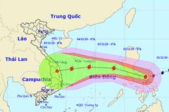 Siêu bão Goni giảm cường độ, tuần tới hướng vào Đà Nẵng - Phú Yên