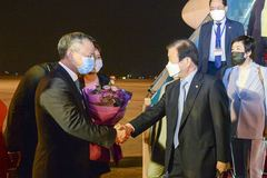 Chủ tịch Quốc hội Hàn Quốc bắt đầu chuyến thăm chính thức Việt Nam