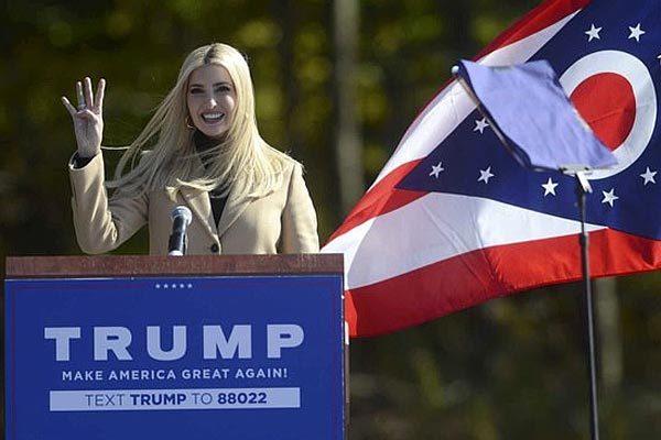 Ái nữ gây quỹ kỷ lục giúp ông Trump tái tranh cử