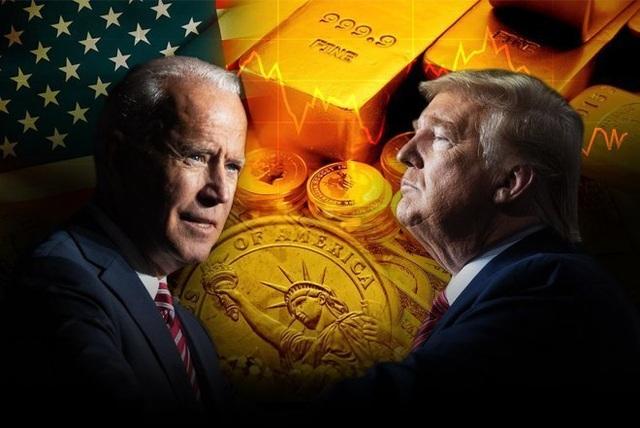 Giá vàng có thể biến động dữ dội nếu ông Joe Biden lên làm Tổng thống Mỹ!