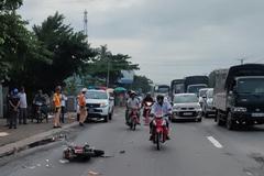 Quay đầu xe đột ngột, người đàn ông bị xe khách tông chết trên QL1