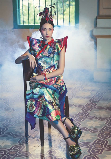 Female designer's fashion exhibition to open in HCM City