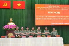 HCM City, six provinces sign agreement onfighting crime
