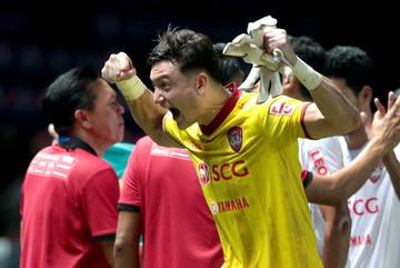Đặng Văn Lâm xuất sắc nhất vòng 11 Thai League