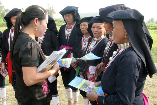 Phụ nữ Thiện Kế góp sức xây dựng nông thôn mới