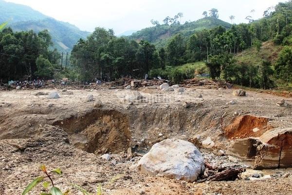 Warning system for landslides in communes remains poor