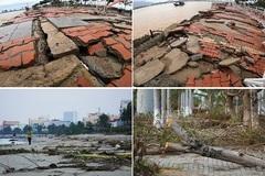Nhiều công trình ở Đà Nẵng hư hỏng nặng do bão số 9
