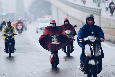 Dự báo thời tiết 3/11: Không khí lạnh và mưa bao phủ miền Bắc