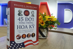 Cuốn sách về 45 đời tổng thống Mỹ