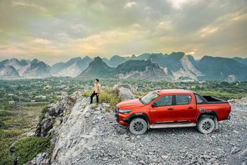 3 điểm thay đổi ấn tượng của Toyota Hilux 2021