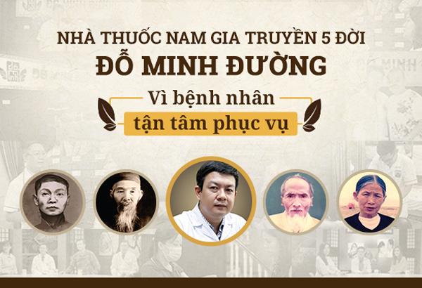 Nhà thuốc gia truyền 5 đời Đỗ Minh Đường ra mắt website mới