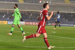 Xem video bàn thắng Atalanta 0-5 Liverpool