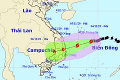 Bão số 10 có thể suy yếu trước khi đổ bộ vào Quảng Ngãi - Khánh Hòa