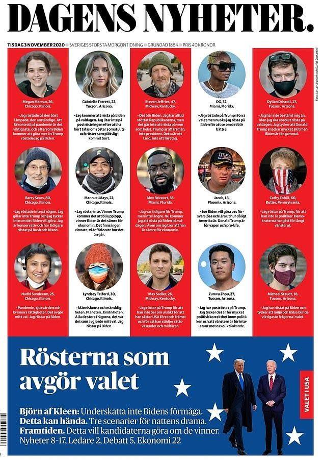 Bầu cử tổng thống Mỹ 2020 'chiếm sóng' báo chí thế giới
