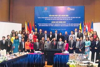 Nâng cao hiệu quả công tác pháp luật, thi hành án dân sự tại nước ASEAN