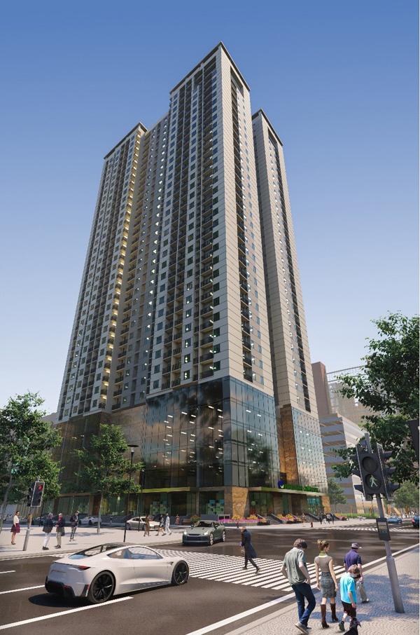 Hưởng lợi từ hạ tầng, Phú Thịnh Green Park hút khách mua ở thực