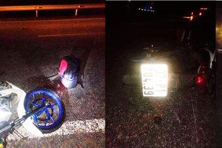 Tử vong vì đâm vào xe máy đỗ bên đường