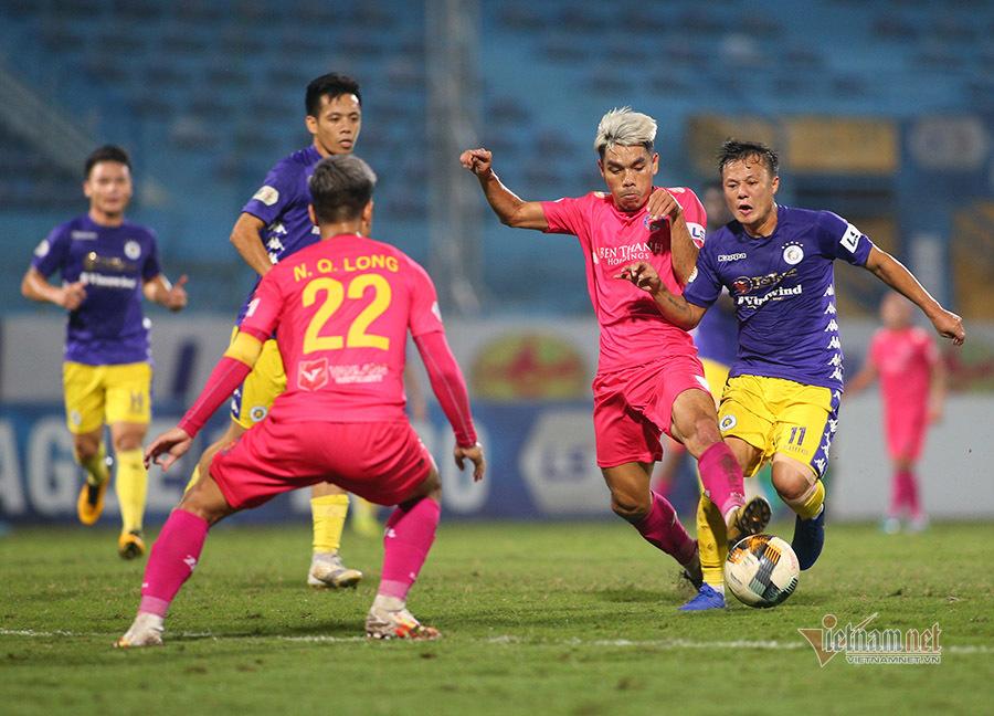 Xem Quang Hải, Thành Lương phá tan mộng vô địch của Sài Gòn FC