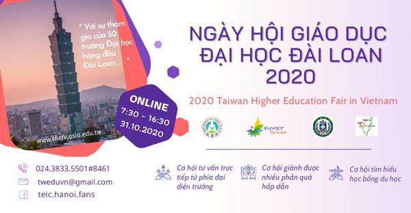 6.000 người tham gia ngày hội tư vấn trực tuyến du học Đài Loan