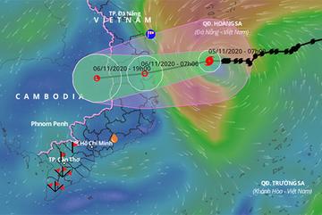 Bão số 10 cách Quảng Ngãi - Phú Yên 280km, dự kiến sơ tán hơn 28.000 người