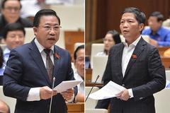 Bộ trưởng Trần Tuấn Anh tranh luận với ĐBQH về tính hai mặt của thủy điện