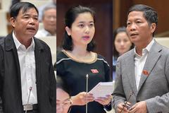 Nữ Trung tá tranh luận với Bộ trưởng Công Thương và NN&PTNT