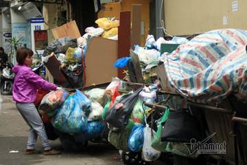 """Hà Nội tiếp tục xử lý quyết liệt vấn đề """"ùn tắc rác"""""""