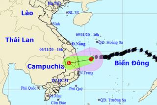 Bão số 10 suy yếu, miền Trung mưa to từ đêm nay