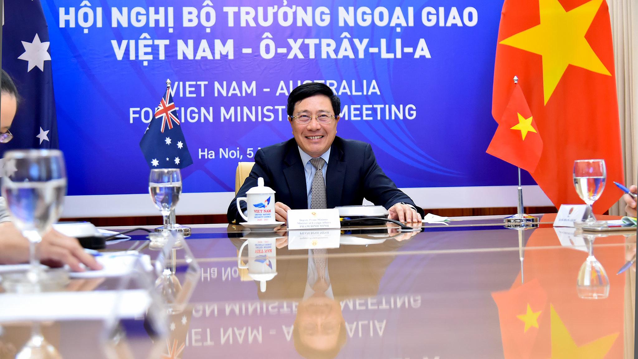 Australia mong muốn trở thành Đối tác Chiến lược toàn diện của Việt Nam