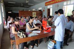 Quảng Trị: Thực hiện hiệu quả tiêu chí y tế trong xây dựng nông thôn mới