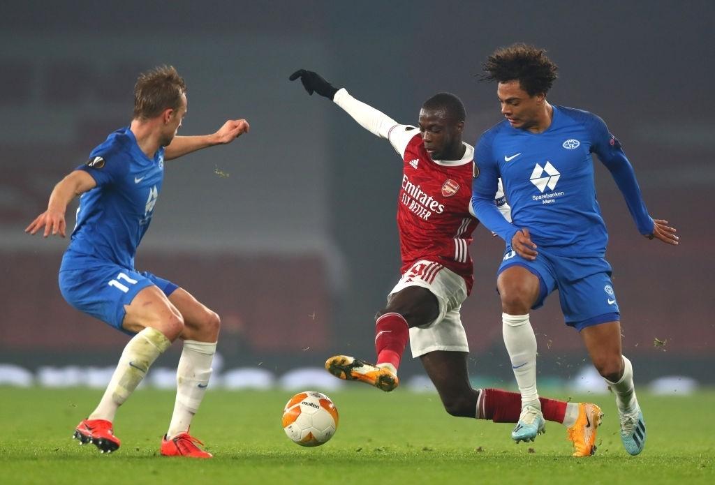 Thắng '4 sao', Arsenal sáng cửa đi tiếp ở Europa League