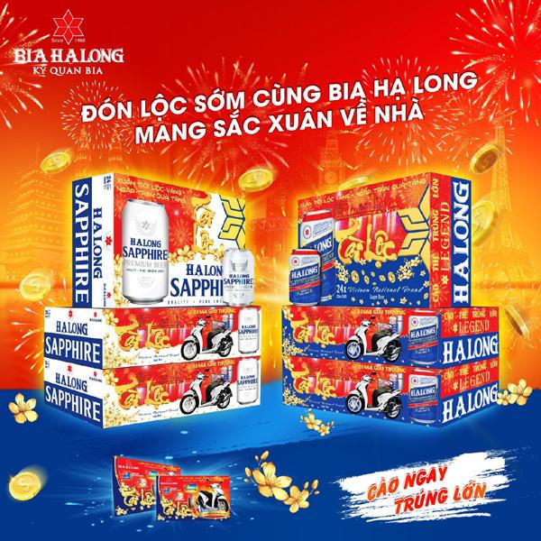 Bia Hạ Long tung chương trình ưu đãi chào Xuân 2021