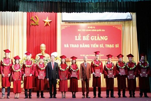 Học viện Hành chính Quốc gia tuyển sinh đào tạo thạc sĩ