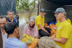 YTS trao 100 suất quà cho người dân vùng 'rốn lũ' Quảng Bình