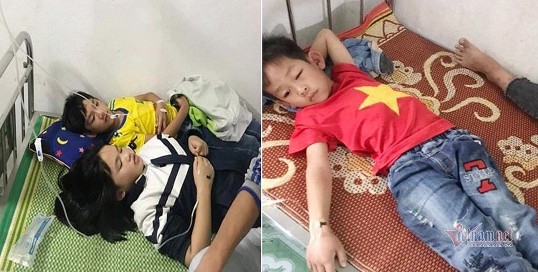 16 học sinh bị ong đốt phải nhập viện cấp cứu