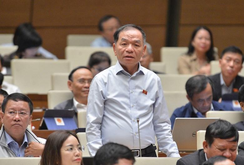 Tranh luận ở Quốc hội về việc cách chức ông Lê Vinh Danh