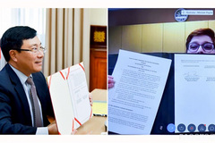 VN and Australia signs strategic partnership action plan