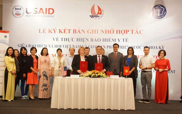 BHXH Việt Nam hợp tác cùng USAID trong lĩnh vực BHYT