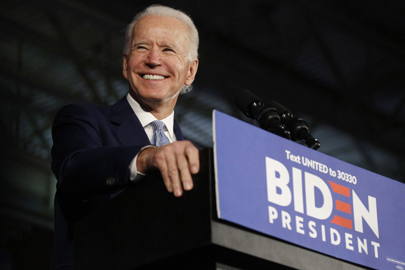 Nhà cái trả thưởng sớm cho những người cược ông Biden thắng cử
